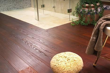 Dřevěná podlaha - Jasan Thermo Forte - vzhled