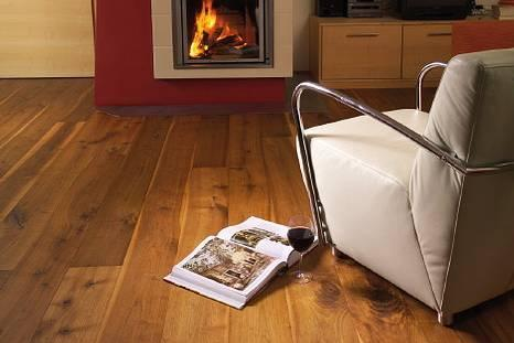 Dřevěná podlaha - Ořech rustikální - vzhled